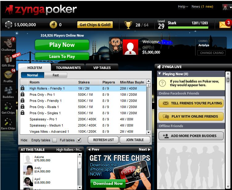Zynga Poker Chips Free Download Software