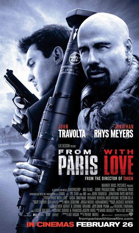 Pozdrowienia z Paryża / From Paris with Love (2010) DVDrip Lektor PL